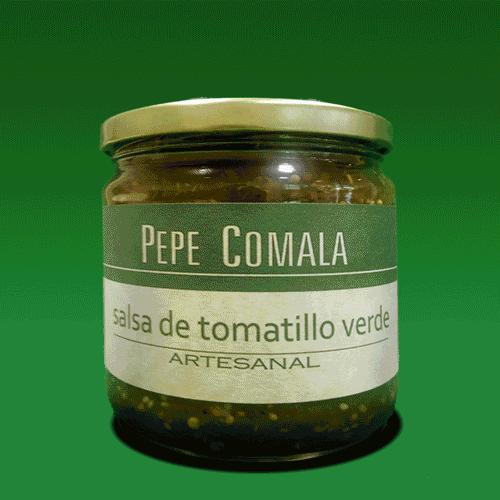 Salsa de tomatillo verde Pepe Comala